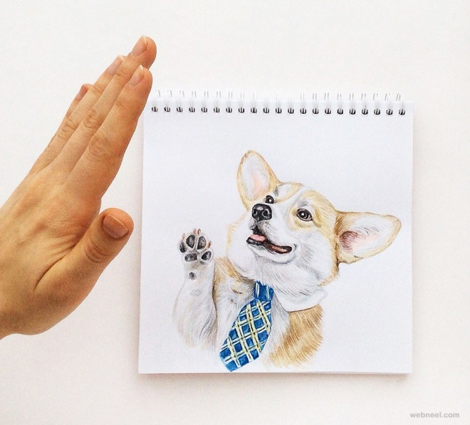 50 Creative And Funny Drawings And Art Ideas For Your