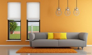 wall designs living painting paint yellow bedroom colors rooms grey decorating interior kitchen interiors elements orange homes colores shade decorchamp