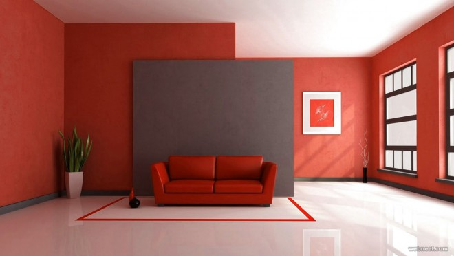 Beautiful Interior Paint Design Ideas For Living Rooms Room Wall Decor