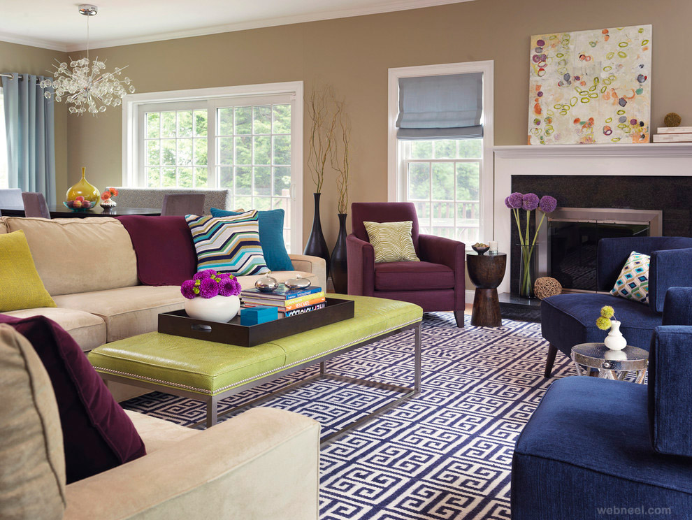 beautiful living room interior designs decor for end tables 35 modern design examples