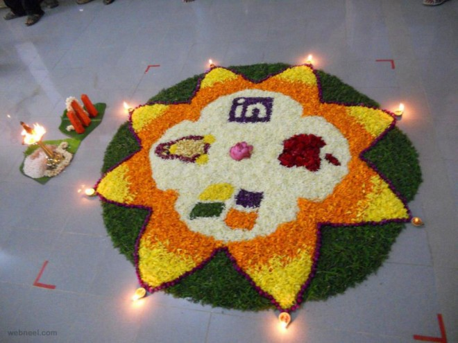 pookalam designs star