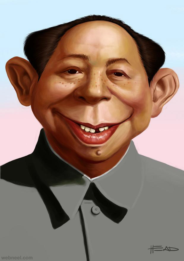 32 Beautiful And Funny Celebrity Caricatures For Your