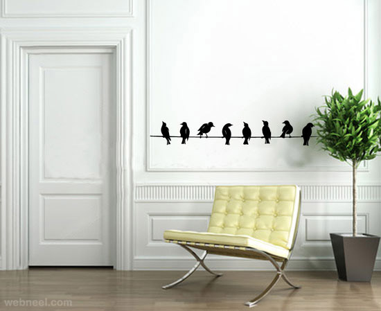 Simple Wall Drawings Designs