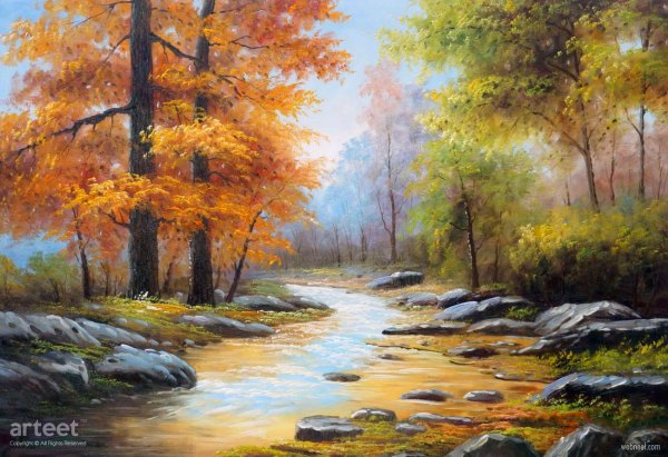 Scenery Oil Painting Nature
