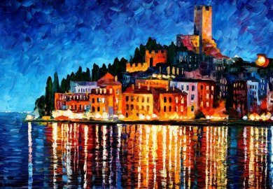 Beautiful Vividly Colored Landscapes And Paintings By Leonid Afremov