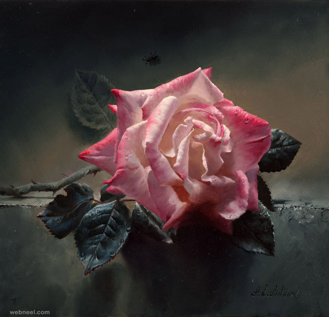 Image Result For Oil Painting Roses Techniques