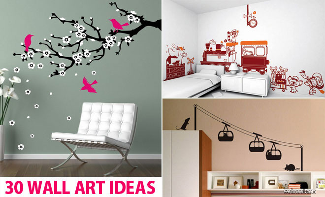 beautiful wall art ideas and diy wall paintings for your inspiration