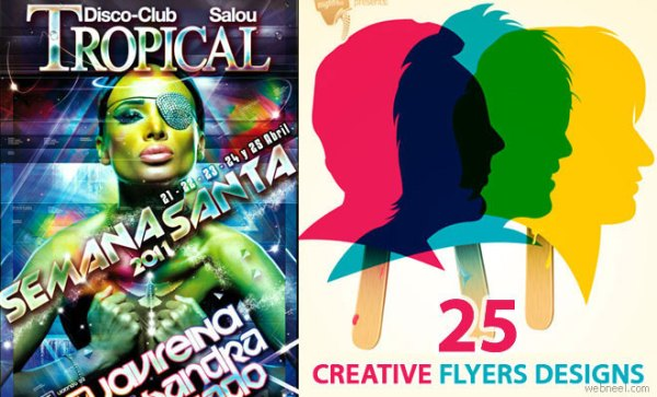 25 Creative Flyer Design Promotional Ideas for you The
