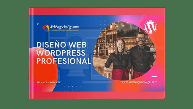 Diseño web WordPress Plan Profesional