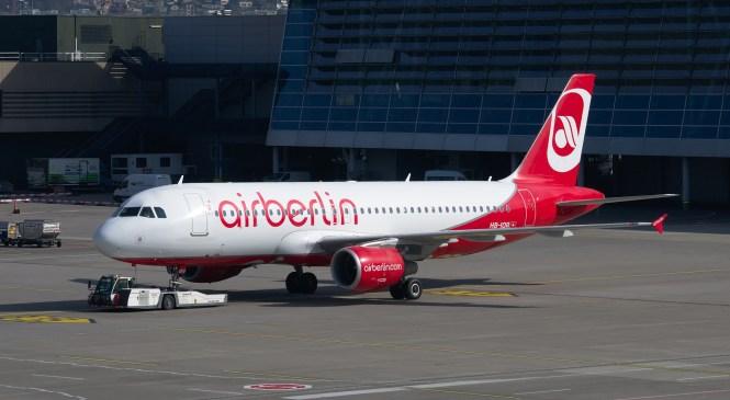 Air Berlin – Nur noch 20.000€in der Barkasse