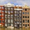 Die Grachtenhäuser von Amsterdam