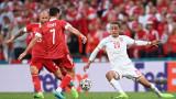 Русия - Дания 1: 4 (Развитие на мача за минути)