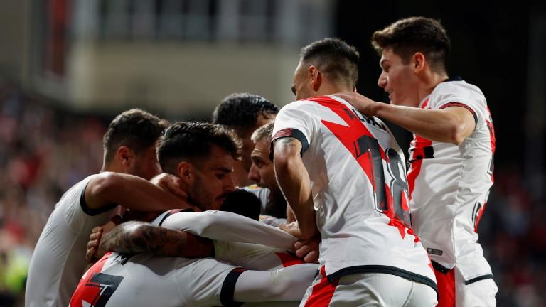 Райо Валекано победи Барселона с 1:0 в Ла Лига