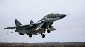 Версии на инцидента с МиГ-29 в Черно море