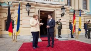Русия се скара на Меркел за коментарите й в Киев относно конфликта в Украйна