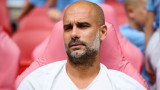 A half-time lecture by Guardiola on City stars after the loss