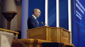 Путин видя изчерпването на съществуващия модел на капитализъм
