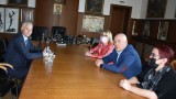 Иван Гешев се срещна с нови ръководители на ДАНС и ГДБОП
