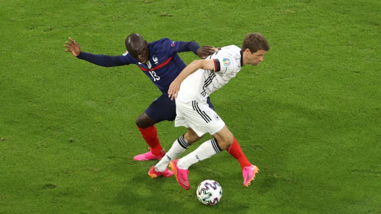 Франция 1: 0 Германия, автогол Матс Хумелс