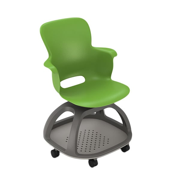 anthro ergonomic verte chair pottery barn rattan search results haskell ethos es1c0 with casters green apple sw