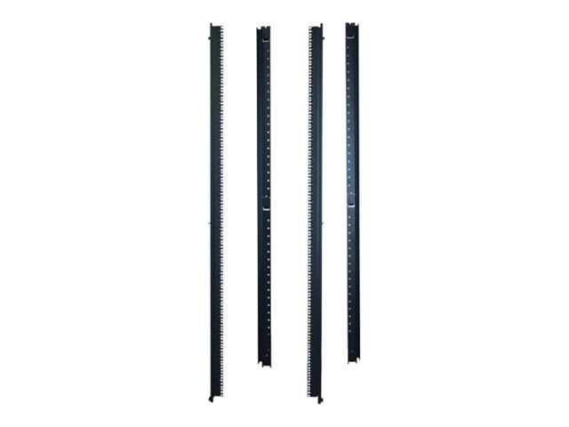 tripp lite 42u rack enclosure server cabinet 23 wide vertical rail mount