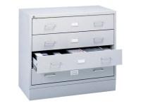 Safco AV Microfilm Storage Cabinet - 4935LG - Racks and ...
