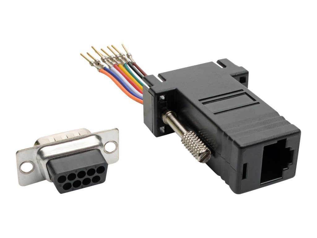 Rj12 To Db9 Adapter Wiring Diagram Free About Wiring Diagram And
