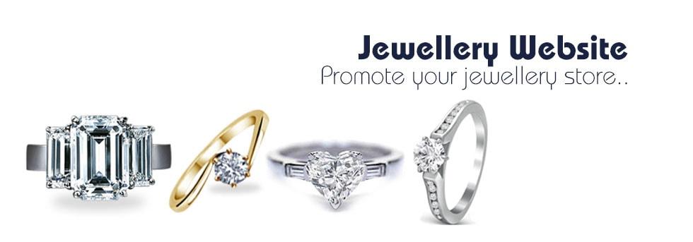 Jewellery website design company delhi