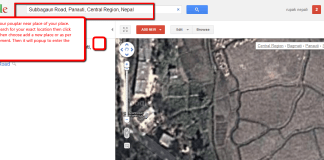 add your location to google map