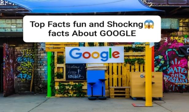 Top and fun facts about Google