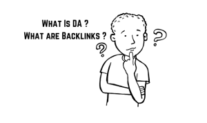 whats is DA and Backlinks