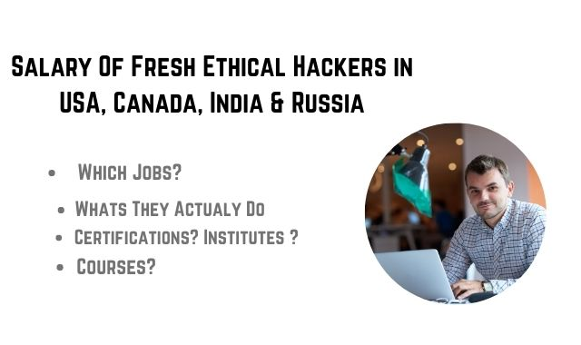 Salary for ethical Hacking