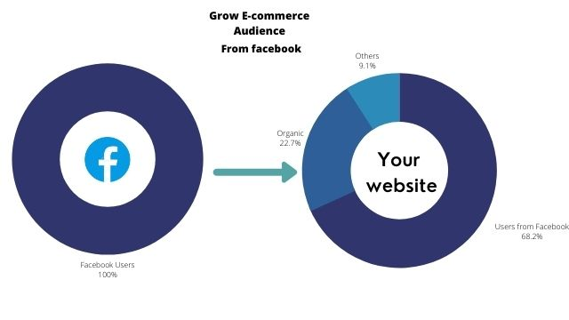 Grow e-commerce audience from facebook