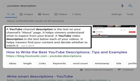 Snippet Bait (example for optimization of featured snippet )