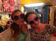 Silly Sisters in Sunglasses