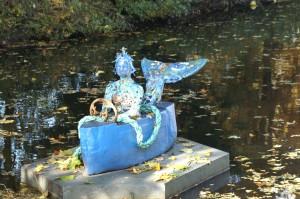 """Glas & Meer - Gundula Menking """"Meerjungfrau und Seemannsgarn"""", Stadtpark Buxtehude"""
