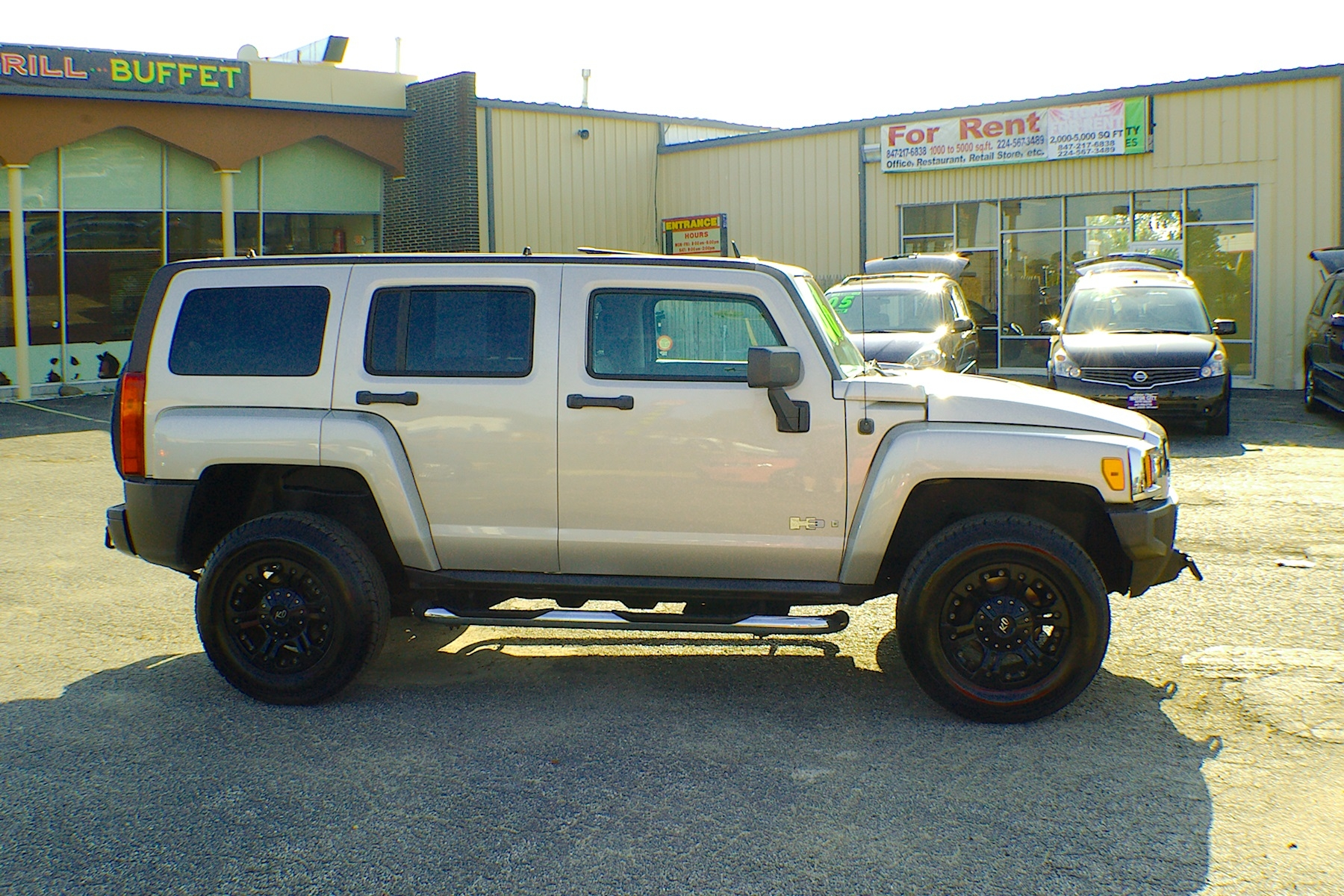 2006 Hummer H3 Pewter 4x4 SUV Used Car Sale