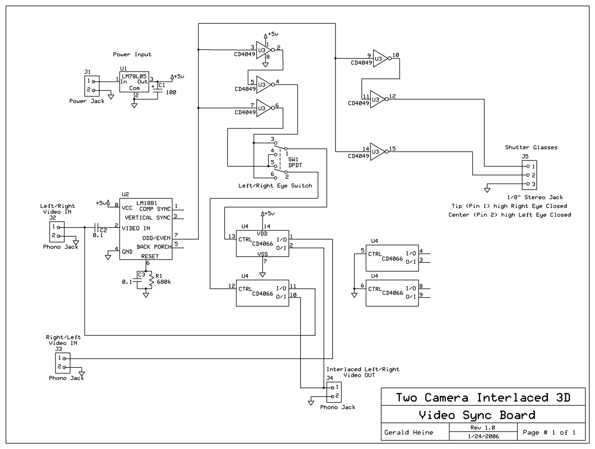 hight resolution of two camera 3d sync board schematic diagram jpg