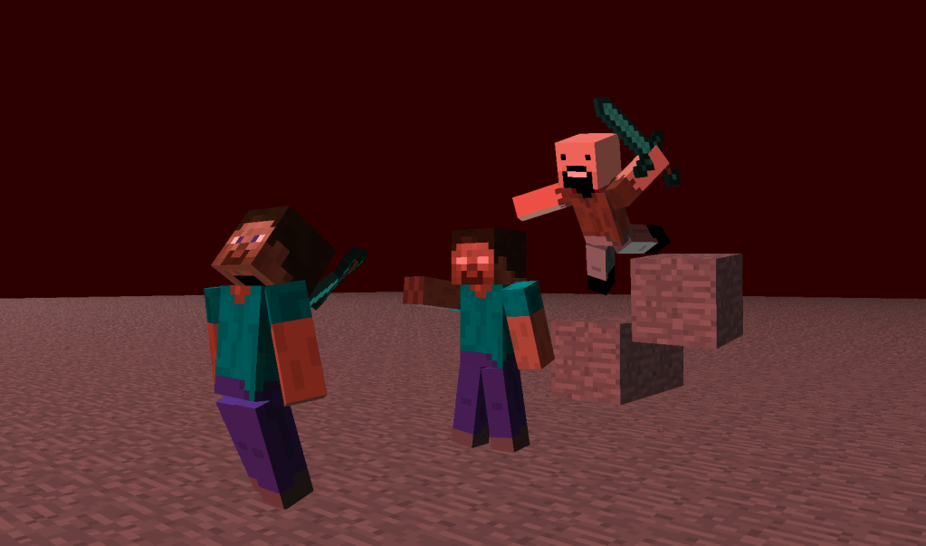 Minecraft Steve Vs Notch Vs Herobrine
