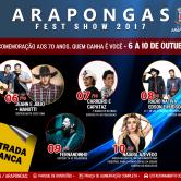 ARAPONGAS FEST SHOW 2017