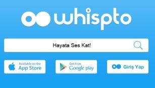 whispto sesli sosyal ag uygulama
