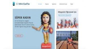 Antalya'dan üç boyut teknolojisini eğlenceye çeviren yeni girişim: 3D Mini Selfie