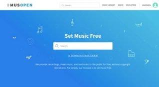 Klasik müzikte telifsiz kütüphane: Musopen