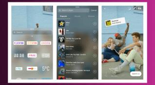 400 milyon kullanıcıya ulaşan Instagram Hikayeler'in yeni müzik formatı