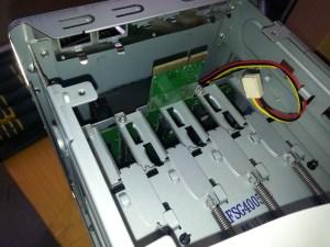 Western Digital Sentinel DX4000 Fan cable