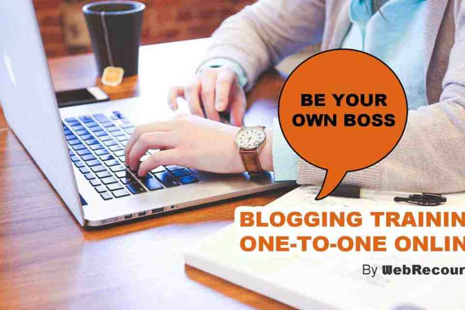 Blogging Training Online
