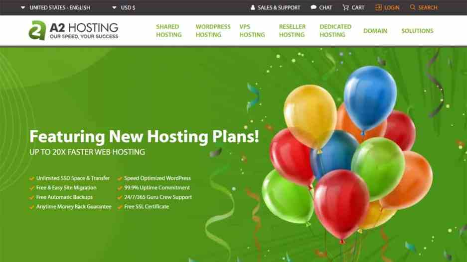 A2 Hosting Best Web Hosting Providers
