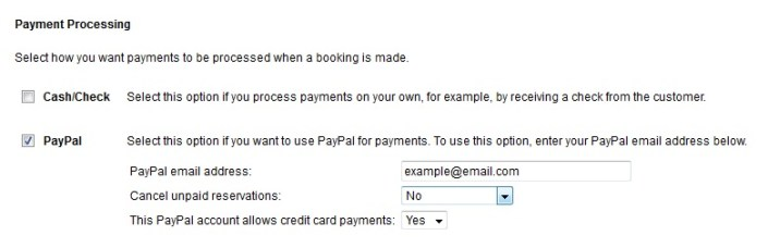 Paypal synch