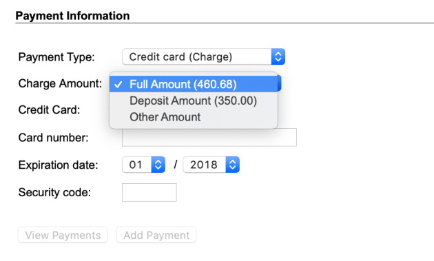 Pay in Full - Frontdesk