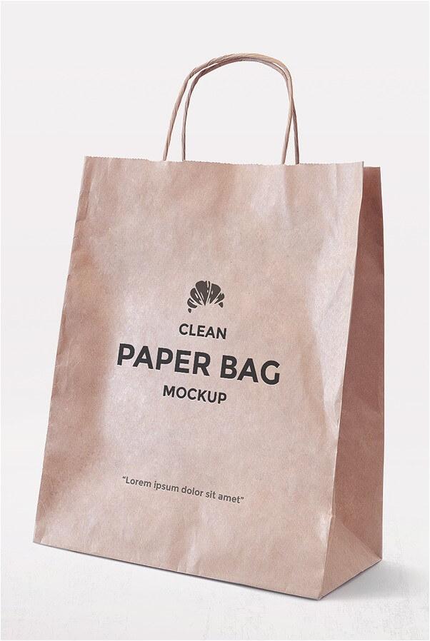 Download 23+ Free Paper Bag Mockups PSD Templates - webrfree